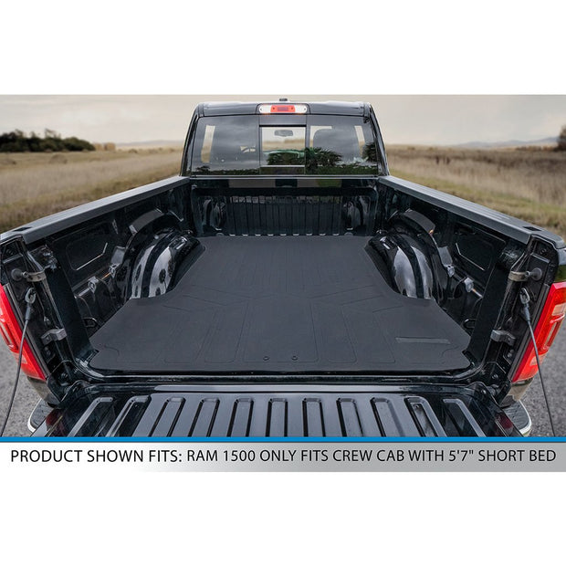 SMARTLINER Custom Fit for 19-21 Ram 1500 Crew Cab with Rear Underseat Storage Box