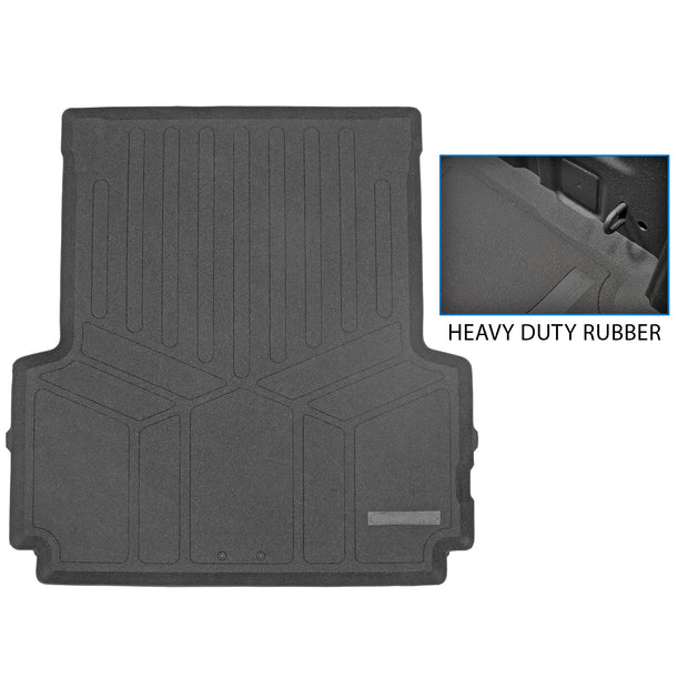 Truck Bed Mat Liner (Bedliner) for 2020-2021 Jeep Gladiator Crew Cab (5' Bed Size Only)- K0459