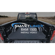 SMARTLINER Custom Fit for 19-21 Ram 1500 Quad Cab Vinyl Floor without Rear Underseat Storage Box