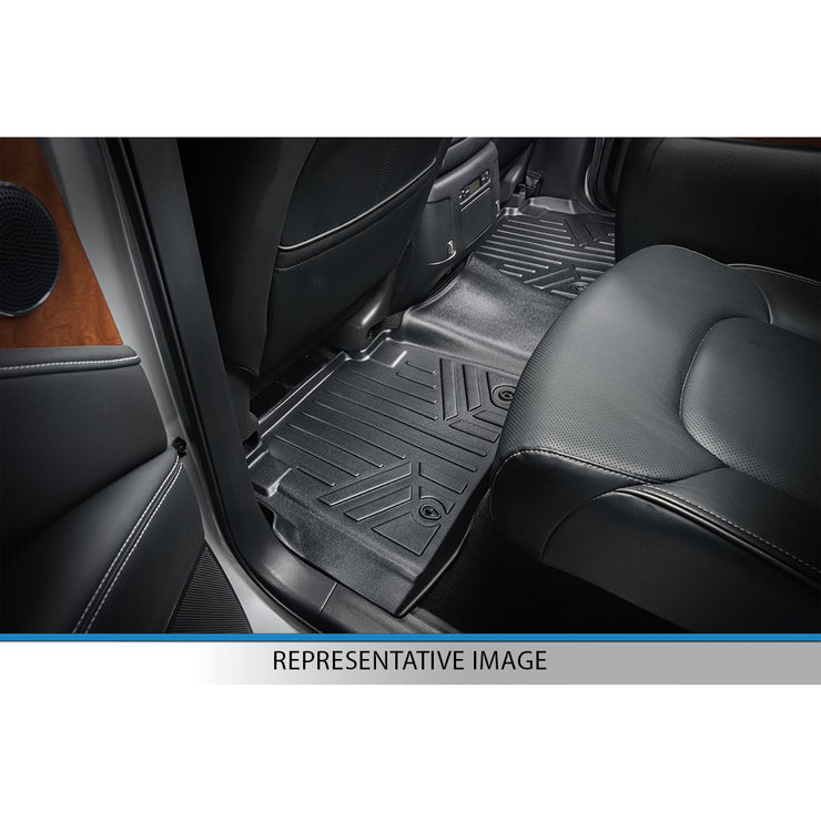 SMARTLINER Custom Fit for 2009-2010 Ford F-150 SuperCab with Flow-Through Center Console - Smartliner USA