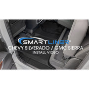 SMARTLINER Custom Fit for 2007-2013 Silverado/Sierra 1500 Crew Cab - 2007-2014 2500/3500 HD Crew Cab