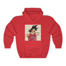 Load image into Gallery viewer, Goku Bulls Hoodie