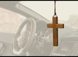 Car Hanging Cross
