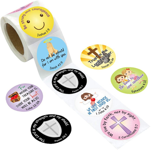 Bible Verse Stickers x500