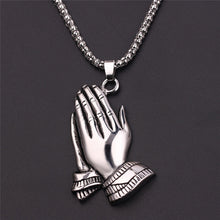 Load image into Gallery viewer, Praying Hand Pendant