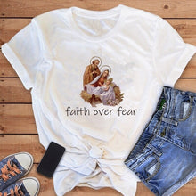 "Load image into Gallery viewer, ""Faith Over Fear"" T-Shirt"