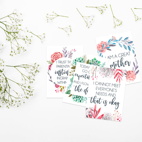 Motherhood Affirmations - Digital Download