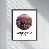 Los Angeles City California Life with Circular Vibes