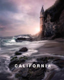 Southern California Castlescape with California Type