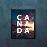 CANADA Vancouver Burst of Fire with Modern Type