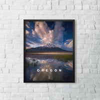 "3 x Oregon Mountain View Print Set (12x16"")"