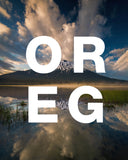 OREG Lake with Erupting Clouds