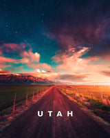 Galactic Pathways Landscape with UTAH Type