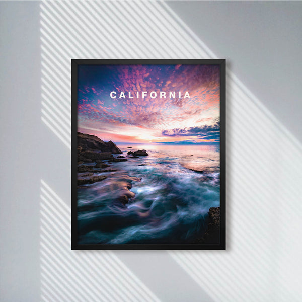 California Dreamy Laguna Beach with California Type