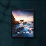 Dreamy Malibu (El Matador) Beach with California Type