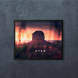 "2 x Utah Crimson Light Set (12x16"")"