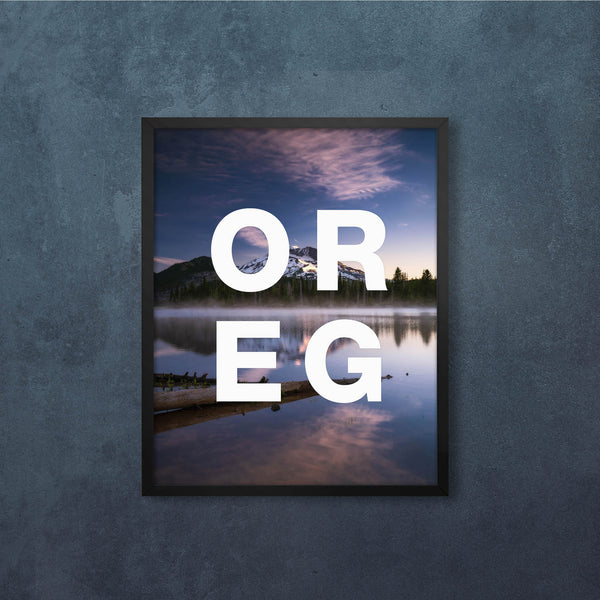OREG Sparks in the calm of Morning