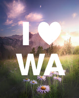 I LOVE WA in Mountain Spring