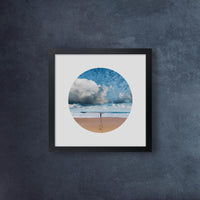 Iconic Circular Hawaii Beach Clouds