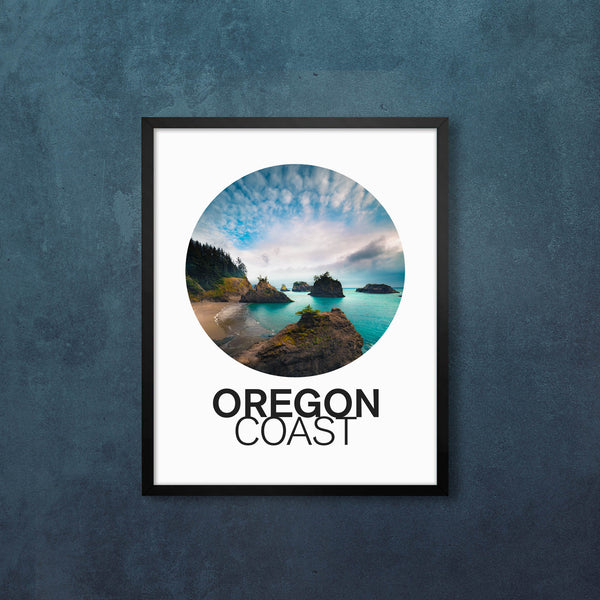 Oregon Coast Circular Vibes