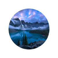 Iconic Circular Moraine Lake View