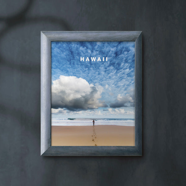 Dreamy Hawaii Skies with Hawaii Type