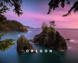 Perfect Blue Hour Hues With Oregon Type