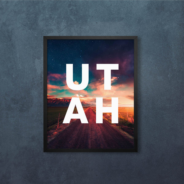 Road to UTAH with Modern Type