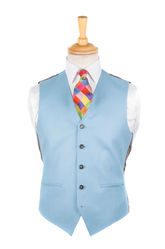 Regent - Waistcoat - Sky Blue - Morning suit - Wedding - Regent Tailoring