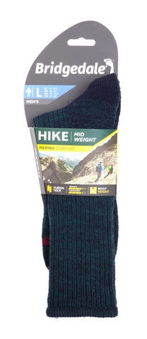 Bridgedale Walking Socks - Navy/Green