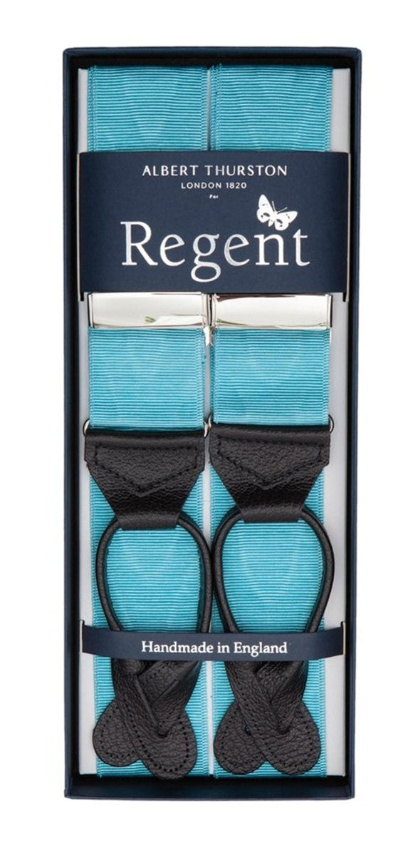 Regent x Albert Thurston - Braces - Atlantic Blue - Regent Tailoring