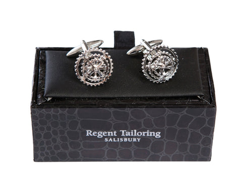 Regent Cufflinks - Bike Cogs