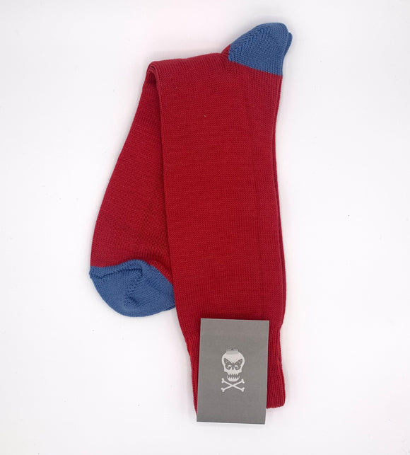 Luxury cotton socks made with acrylic for durability in the UK and exclusively designed by Regent.