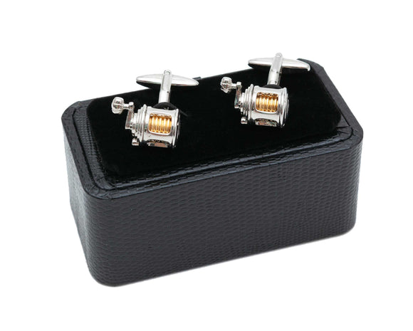 Regent Cufflinks - Fishing Reel - Regent Tailoring
