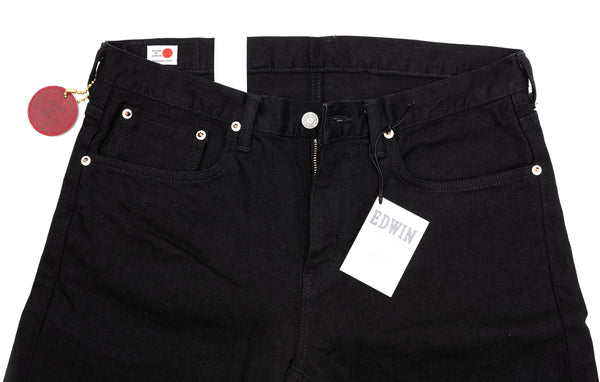 Edwin - ED32M-101 Jeans - Slim Tapered - Solid Black Denim