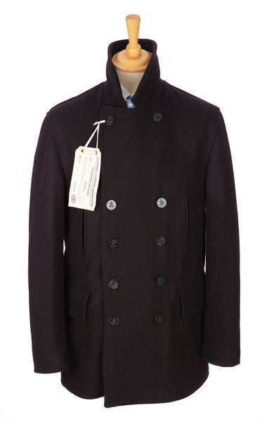Gloverall - Churchill Reefer/Peacoat - Wool - Navy