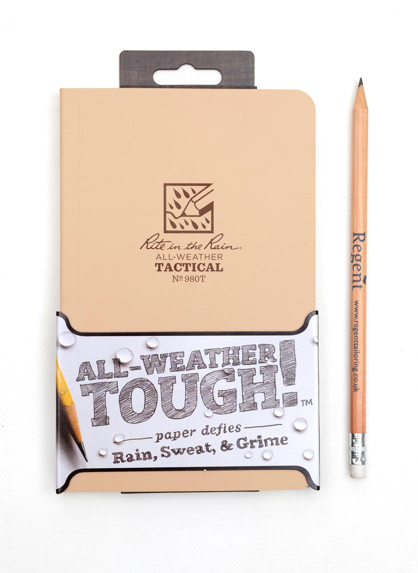 Rite-In-The-Rain Weatherproof, Waterproof Notebook - Sand - Regent Tailoring