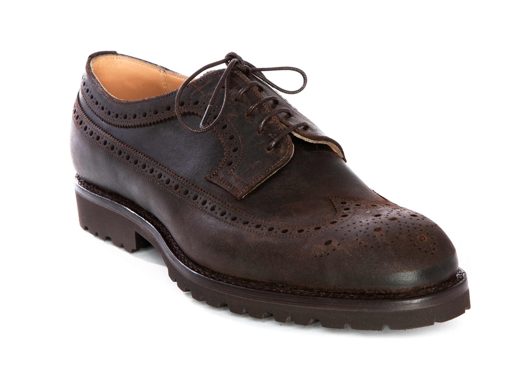 Regent Brogue - The Clive - Five Tie Long Wing - Regent Tailoring