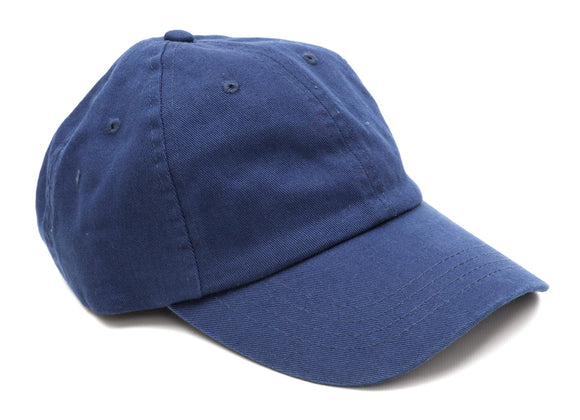 Regent Low Profile Baseball Cap - Navy
