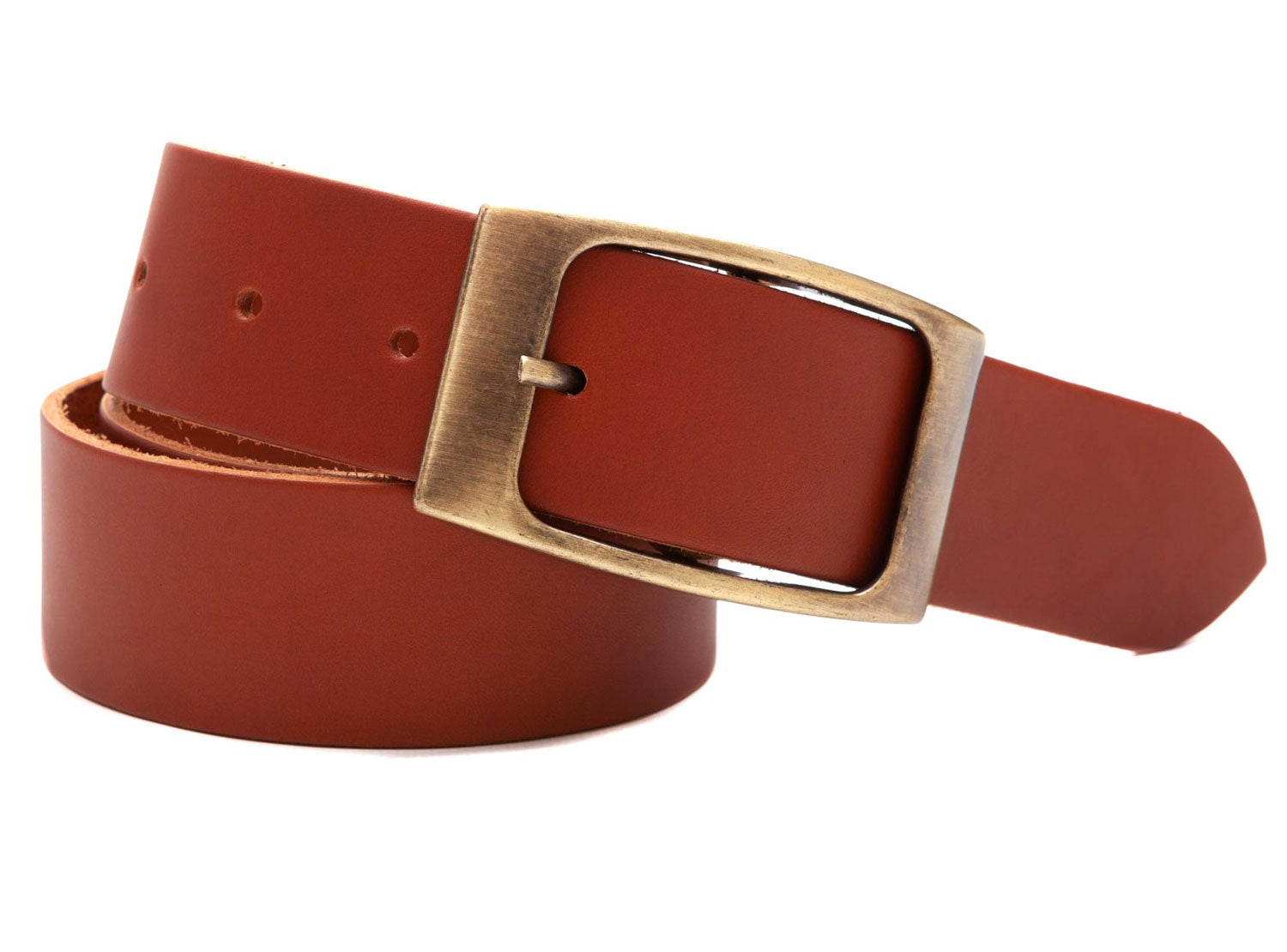 Regent - Jean-Belt - Leather - Tan - Regent Tailoring