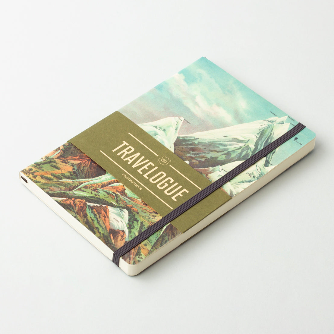 Izola Travelogue - Highest Mountains Notebook Journal