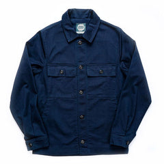 Yarmouth Oilskins - The Drivers Jacket - Cotton - Navy