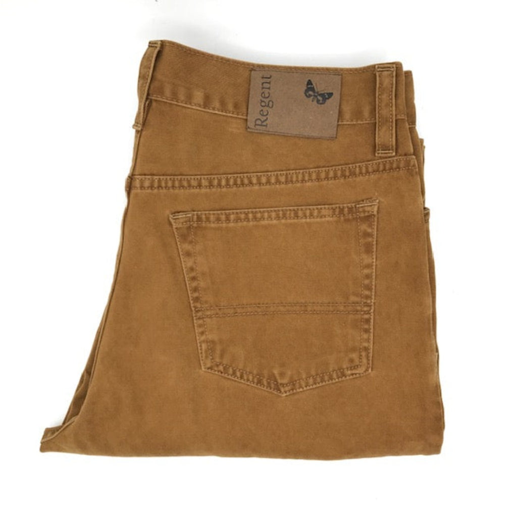 Regent - Chino/Jeans - Cotton - Cougar Caramel Tan - Carrera