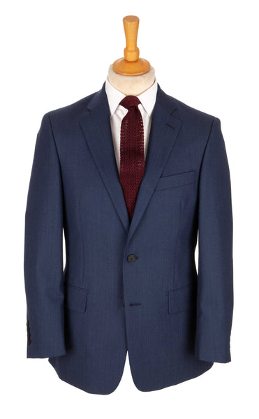 Regent - 'Crow' - Two-Button Suit – Navy Wool