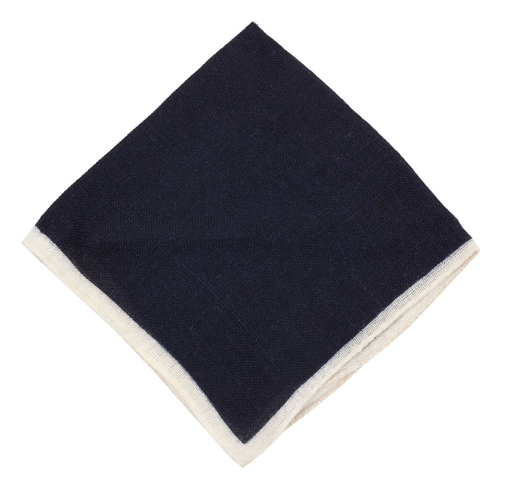 Luxury wool pocket square designed and crafted exclusively for Regent