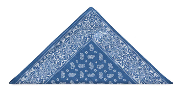 100% soft, durable cotton handkerchief-bandana by Regent, made in Italy to the finest quality and highest degree.