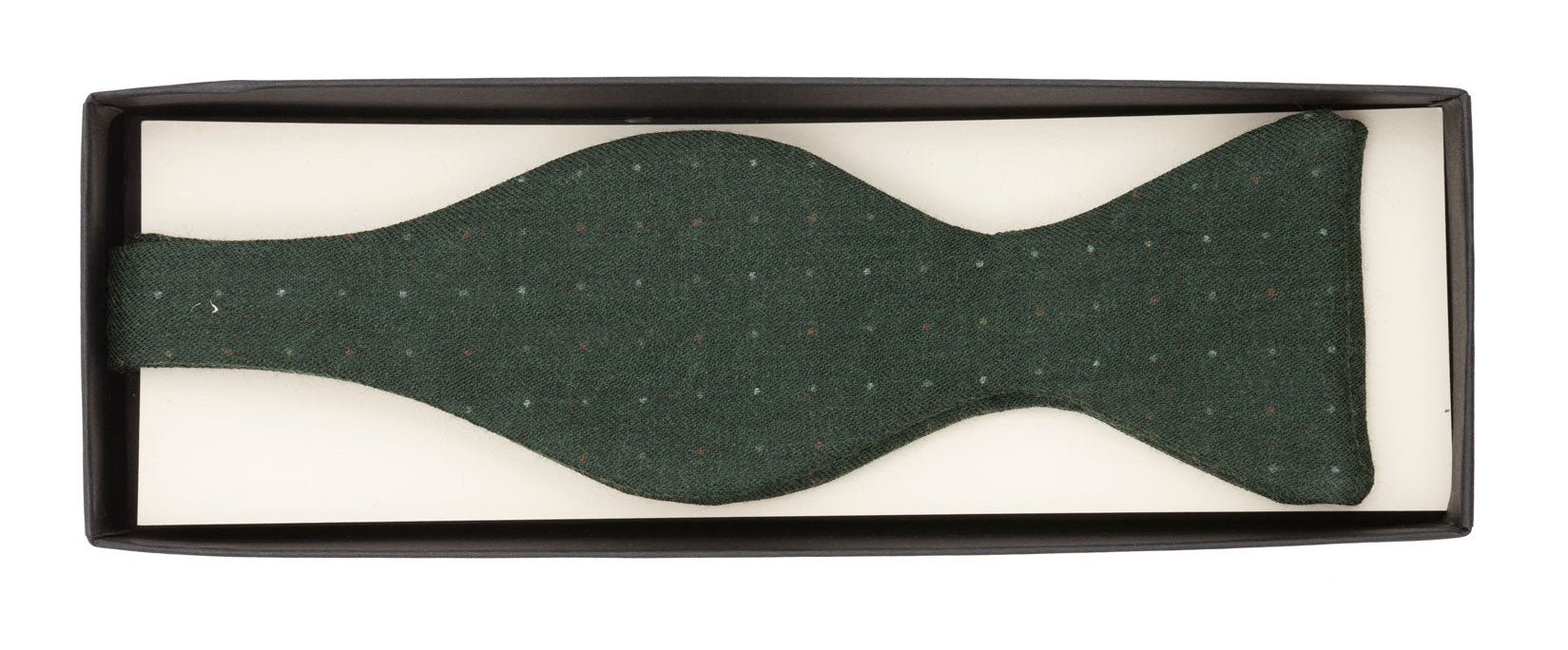 Wool untied bow tie designed and made exclusively for Regent and made in England from soft, high-quality wool.