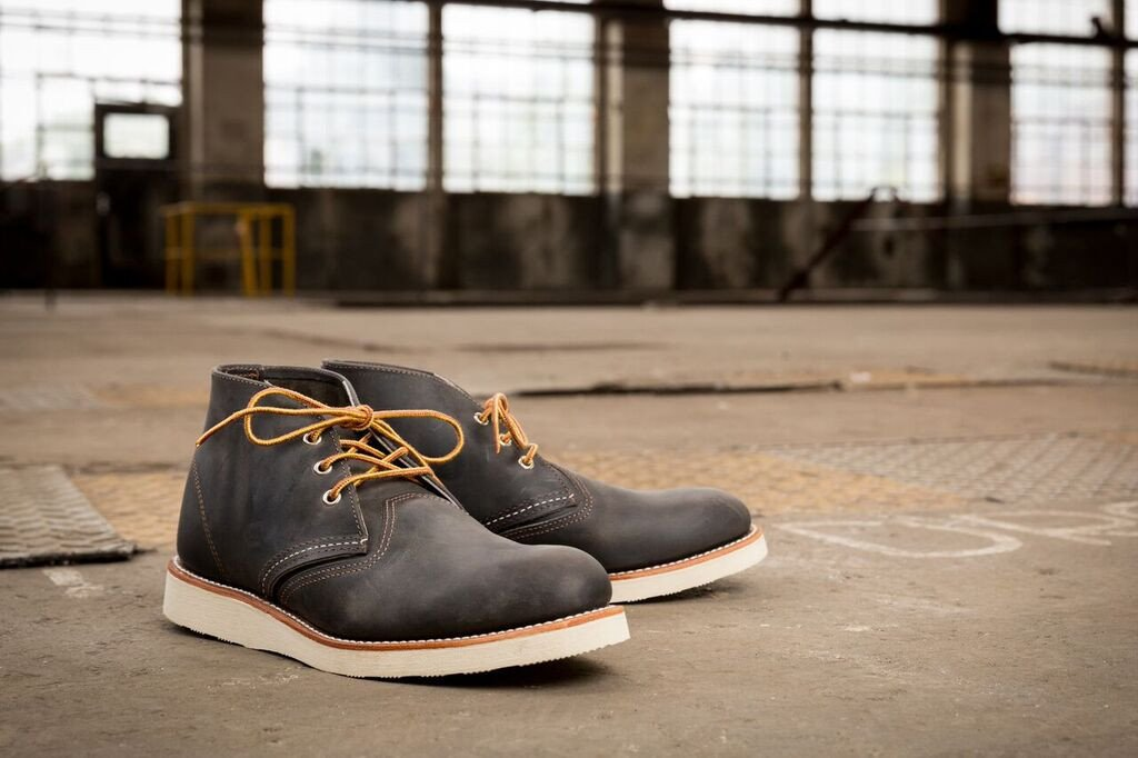 Red Wing - Chukka Boot 3150 - Charcoal Rough and Tough