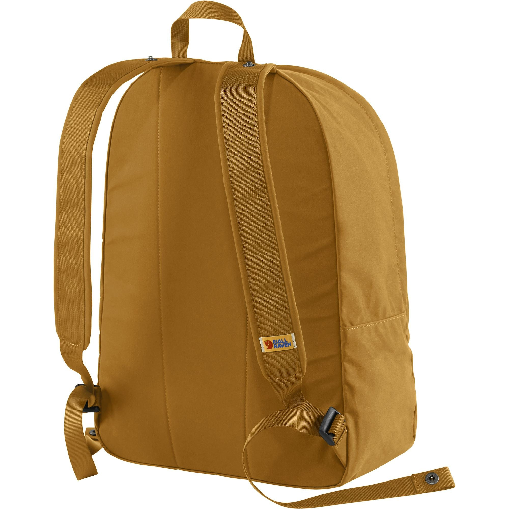 Ultimate everyday backpack from contemporary masters Fjällräven: light, convenient, easy to use and sling on and off constantly, highly accessible and coming in an awesome acorn brown for year-round suitability.
