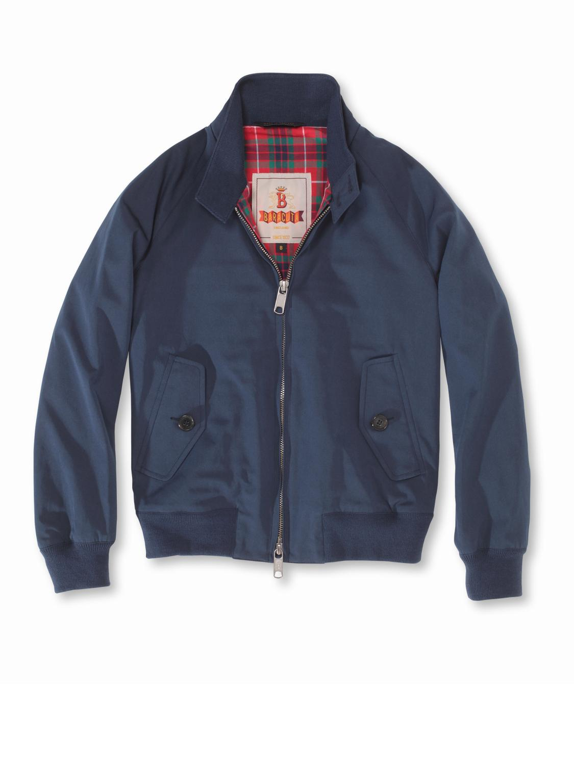 Baracuta - G9 - Harington Jacket - Navy - The Original - Regent Tailoring